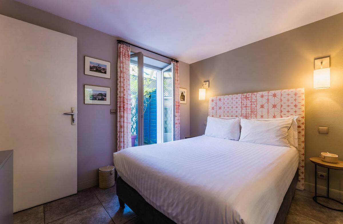 La chambre single à centre ville de Biarritz, Hôtel Edouard VII